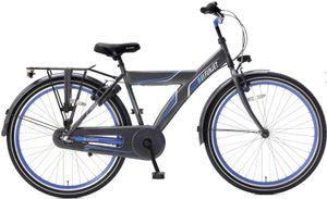Popal Kinderfahrräder Jungen Funjet X 26 Zoll 44 cm Jungen Rücktrittbremse Blau/Grau