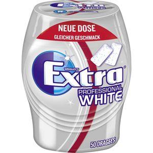 Wrigleys extra Professional White zuckerfreie Kaugummis Dose 68g