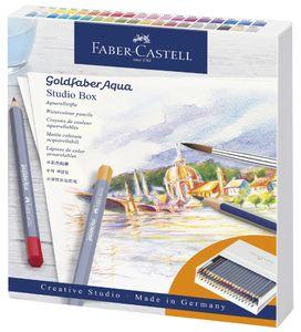 FABER-CASTELL Aquarellstifte GOLDFABER Atelierbox