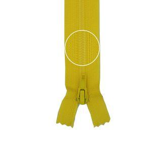 YKK Reißverschluss Kunststoffspirale nicht teilbar 3mm 16cm 504 sonnengelb