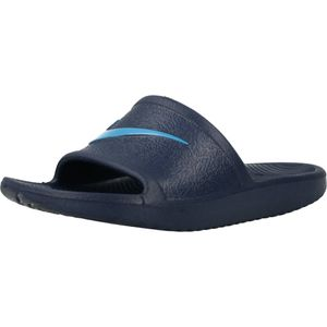 Nike NIKE KAWA SHOWER LITTLE/BIG KI MIDNIGHT NAVY/LASER BLUE MIDNIGHT NAVY/LASER BLUE 29.5