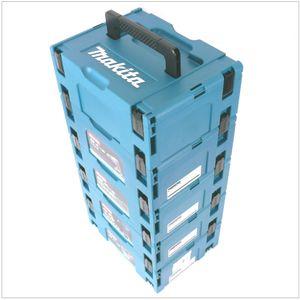 Makita Makpac 2 Transportbox Systemkoffer 5er Set