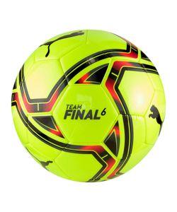 PUMA teamFINAL 21.6 MS Fußball yellow alert/puma black 5