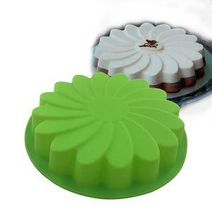 Blumen Form Groß Brotbackform Silikon Torten Form Kastenform für Weihnachten Backen Werkzeug