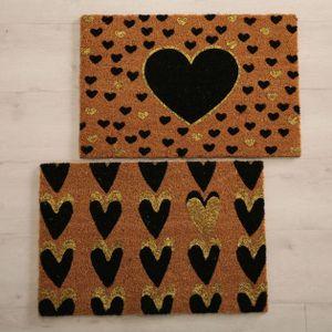 Kokos-Fußmatte Lovely 60x40cm versch. Motive (1 Stück)