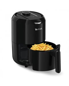 TEFAL Heißluft-Fritteuse EY 1018 Easy Fry Compact, Farbe:Schwarz
