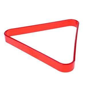 Billard-Dreieck, Kunststoff Farbe rot