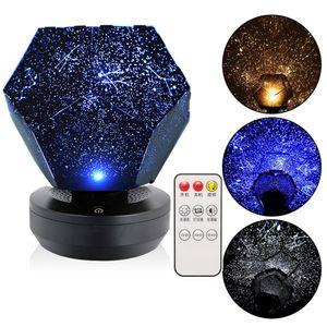 Projektor Sternenhimmel Lampe, Nachtlicht LED 3D magisches Nachtlicht Sternlicht Galaxy Stern Nachtlicht Schlafzimmer Dekoration Kinder Geschenk