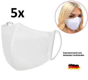 5x Atemschutzmasken 94% Mund-Nasenschutz Mundschutzmaske NanoSilber Wiederverwendbar Maske DEUTSCHER FACHHÄNDLER