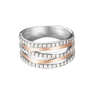 Esprit ESRG92274A Damen Ring sunset Silber rose 53 (16.9)