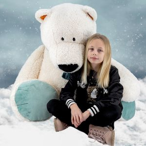 Nici Eisbär, Plüschtier Höhe ca. 135cm