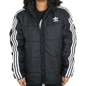 adidas Originals Padded Junior Jacke Kinder Schwarz/Weiß (GD2699) Größe: 176