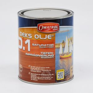 Owatrol Deks Olje D1 1 L Boot Öl Holzöl Pflege Konservierung