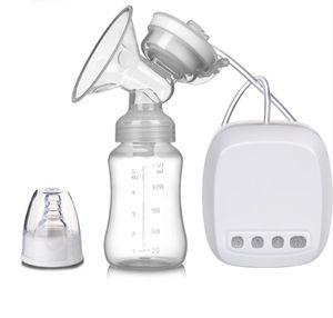 Lmell Elektrische Milchpumpe, Wiederaufladbare Doppel-Stillpumpe, Elektrische Brustpumpe mit 3 Modi und 9 Saugstufen