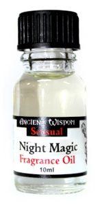 GKA edles ätherisches Duftöl Magie der Nacht Rarität von Ancient Wisdom Aromaöl Raumduft sehr intensiv Duftöle für Duftlampe Diffuser Duftstövchen zur Raumbeduftung  Esotherik