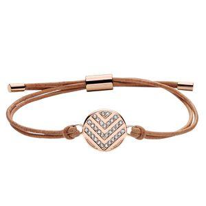 Fossil Armband für Damen Vintage Glitz 23cm Leder JF02746791