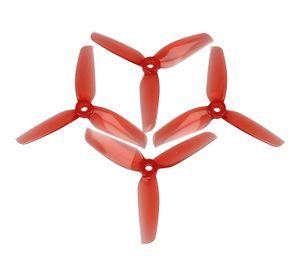 Gemfan 4032 4x3,2 WinDancer 3-Blatt-Propeller Klar Rot 2xCW, 2xCCW 4 Zoll