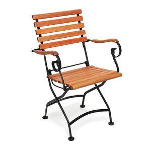 Merxx Schlossgarten Sessel 60 x 57 x 85 cm, Farbe schwarz/braun; 24241-217