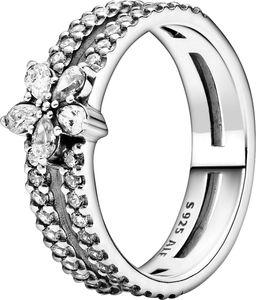 Pandora Ring 199236C01 Sparkling Snowflake Silber 925 clear cubic zirconia  18