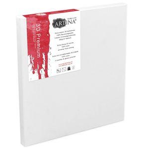 Artina 3D Premium Keilrahmen Leinwand, Größe:100x80x3 cm