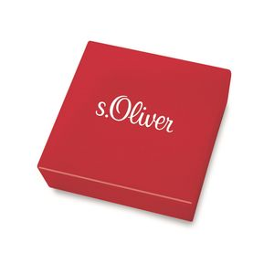 s.Oliver 2022717 Damen Armband Infinity Edelstahl Silber 20 cm