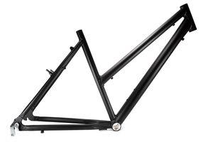 28 Zoll Alu Fahrrad Rahmen Damen Trekking City Bike Rh 50cm A-Head 1 1/8 Zoll schwarz matt