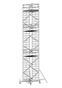 ZARGES RollMaster 2T - LM-Fahrgerüst Fahrbalken Arbeitshöhe 13,60 m