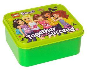 Lego Friends Brotbox Grün, 1Stück