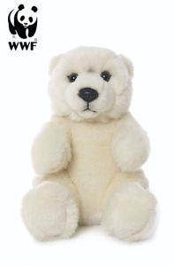 WWF Plüschtier Eisbär (sitzend, 15cm) Bär Polarbear