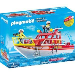 PLAYMOBIL Feuerlöschboot, 70147