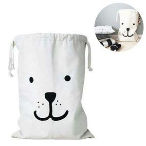 Wäschesack aus Segeltuch mit Kordelzug, zum Aufhängen, gut geeignet für Spielzeug und andere Gegenstände, maschinenwaschbar Washing Machine