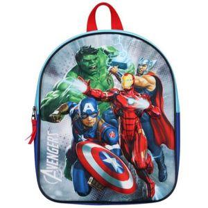 Marvel rucksack Avengers 3D junior 9 Liter Polyester blau/rot