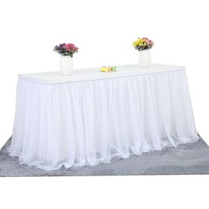 Handgemachte Tuell Tischrock Tischdecke Dekorative Geschirrtuch fuer Rechteck oder runden Tisch Home Tisch Sockelleiste fuer Party Hochzeit Bankett Picknick