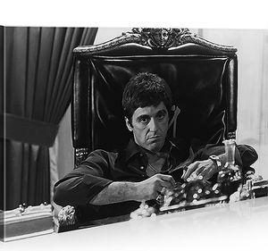 Bilder auf Leinwand Al Pacino Scarface 1p Kunstdruck XXL Bild Poster Leinwandbilder Wandbilder