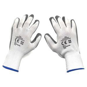5 Paar Gartenhandschuhe Latexhandschuhe Arbeitshandschuhe Garten Arbeits Handschuhe Schutzhandschuhe Gartenarbeit