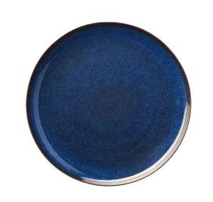 ASA Essteller, midnight blue       SAISONS D. 26,5 cm 27161119  Vorteilsset beinhaltet 6 x den genannten Artikel und Set mit 4 EKM Living Edelstahl Strohhalme