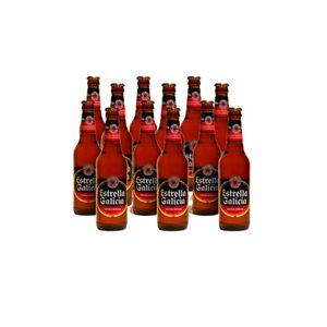 Estrella Galicia Spanisches Bier 12 x 33cl