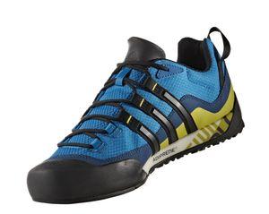 adidas Performance Terrex Swift Solo Herren Outdoor Schuhe Blau BA8491, Größenauswahl:42