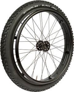Rollstuhlrad FabaCare Offroad Extreme, Outdoor Antriebsrad für Rollstuhl, Ersatzrad für Gelände, bis 75 kg, Kugellager 12,7 mm (?'')
