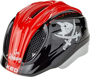 KED Meggy II Originals Helm Kinder sharky red Kopfumfang M   52-58cm