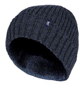 HEAT HOLDERS - Herren Winter Strick Knit mütze Beanie mit Innenfutter