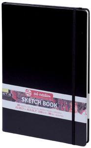 ROYAL TALENS Art Creation Skizzenbuch 130 x 210 mm schwarz 80 Blatt