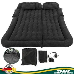 2 In 1 Aufblasbar Auto Luftmatratze Luftbett Isomatte Matratze Bett Gästebett Kfz und 2 Kissen