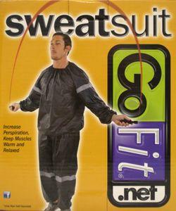 GoFit Thermo-Trainingsanzug, Schwitzanzug (Größe S/M)