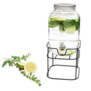 Cuisine Elegance getränkespender 4 Liter Glas 17 x 31,5 cm Glas