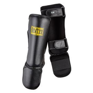 BENLEE Rocky Marciano Box-Schienbeinschoner Unisex – Erwachsene Schwarz, Größe:S/M