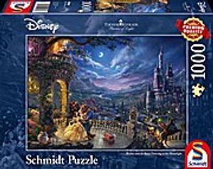 Schmidt Spiele Puzzle Thomas Kinkade Disney Die Schöne und das Biest 1000 Teile