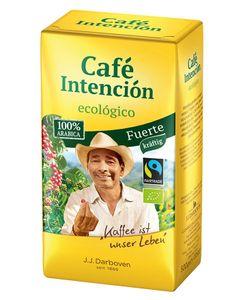 Café Intención ecológico Fuerte | Fairtrade | gemahlen | 500g