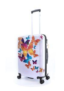 Saxoline Koffer Schmetterling mit arretierbarem Aluminium-Trolleysystem Assorted One Size