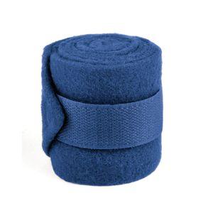 Fleecebandage Mini Shetty, 4er Set dunkelblau